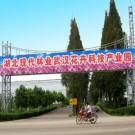 武汉花卉科技产业园大型跨街门楼