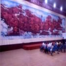 中国红巨幅国画展装裱及活动策划工程